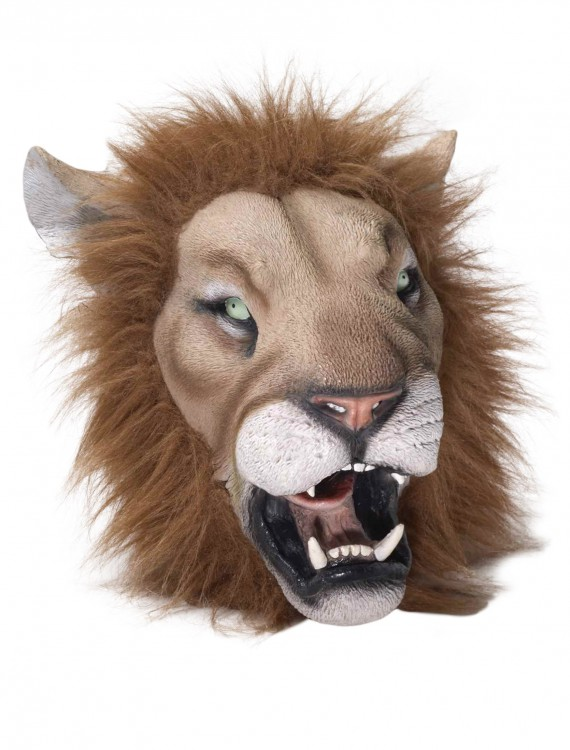 Deluxe Latex Lion Mask, halloween costume (Deluxe Latex Lion Mask)