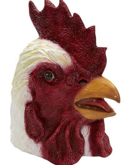 Deluxe Latex Rooster Mask, halloween costume (Deluxe Latex Rooster Mask)