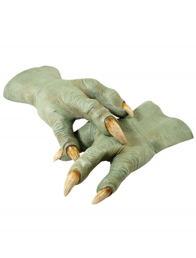 Deluxe Latex Yoda Hands, halloween costume (Deluxe Latex Yoda Hands)