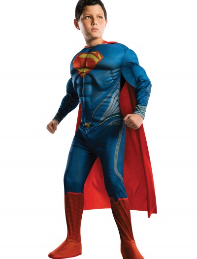 Deluxe Man of Steel Superman Child Costume, halloween costume (Deluxe Man of Steel Superman Child Costume)