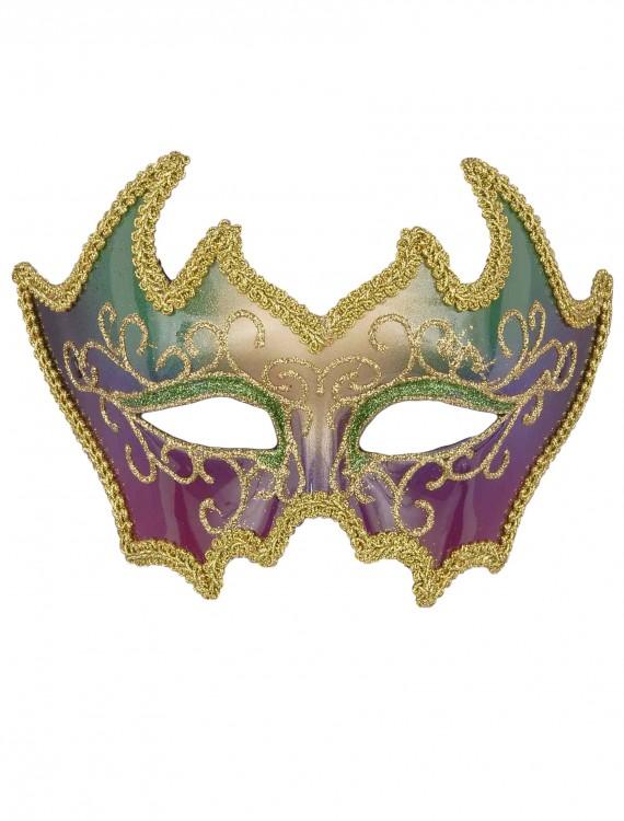 Deluxe Mardi Gras Mask, halloween costume (Deluxe Mardi Gras Mask)