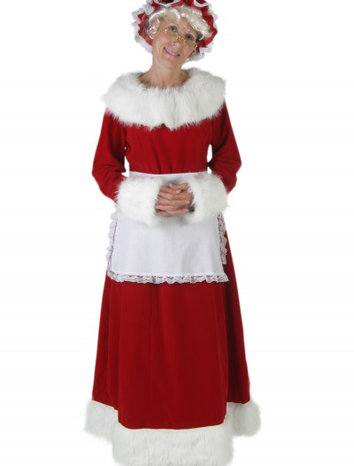 Deluxe Mrs Claus Costume, halloween costume (Deluxe Mrs Claus Costume)