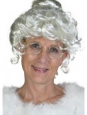 Deluxe Mrs. Claus Wig, halloween costume (Deluxe Mrs. Claus Wig)