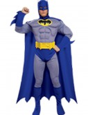 Deluxe Muscle Chest Batman Costume, halloween costume (Deluxe Muscle Chest Batman Costume)