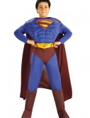 Deluxe Muscle Chest Superman Costume, halloween costume (Deluxe Muscle Chest Superman Costume)