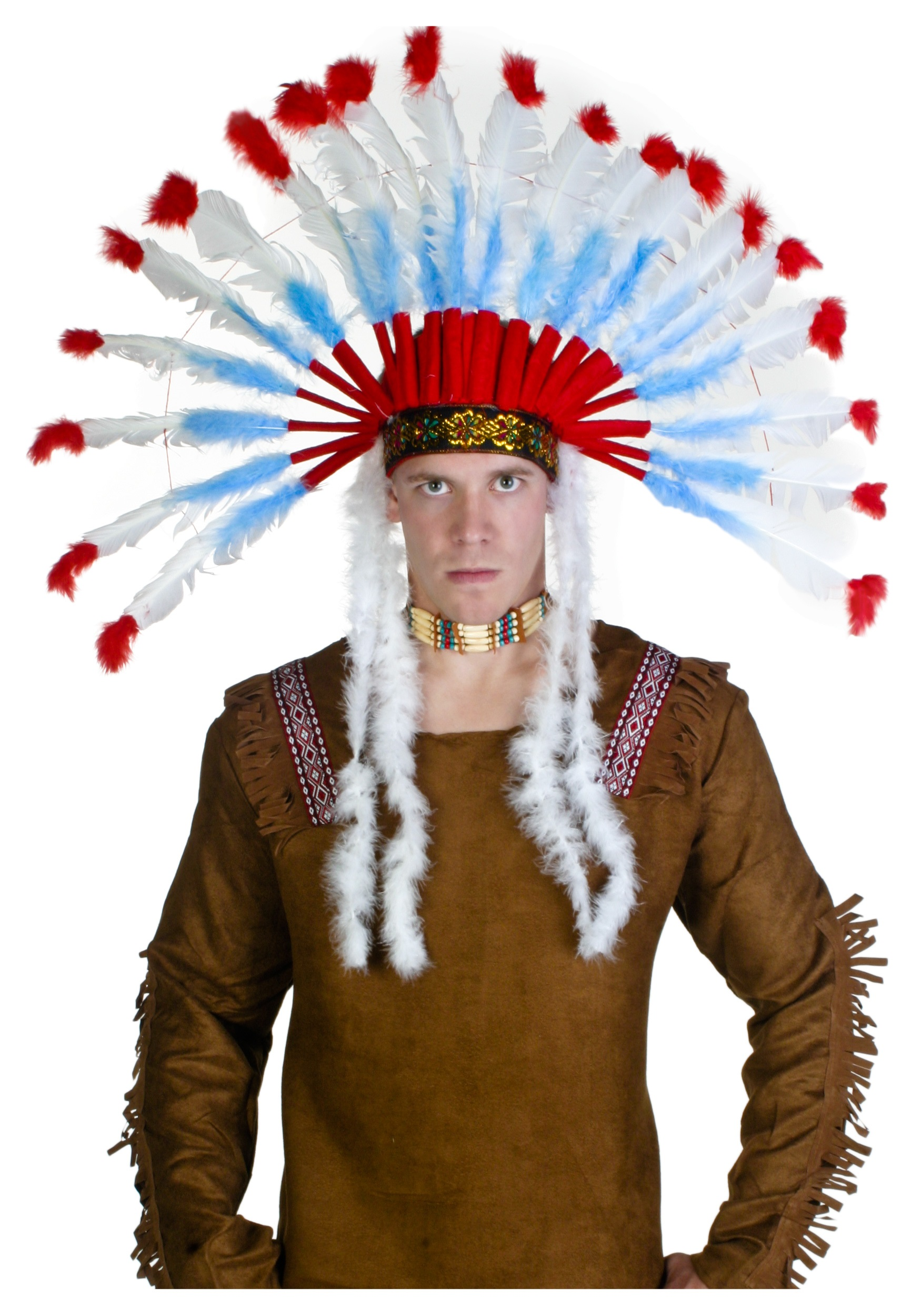 deluxe native american headdress - Native American Costume Halloween
