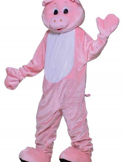 Deluxe Pig Mascot Costume, halloween costume (Deluxe Pig Mascot Costume)