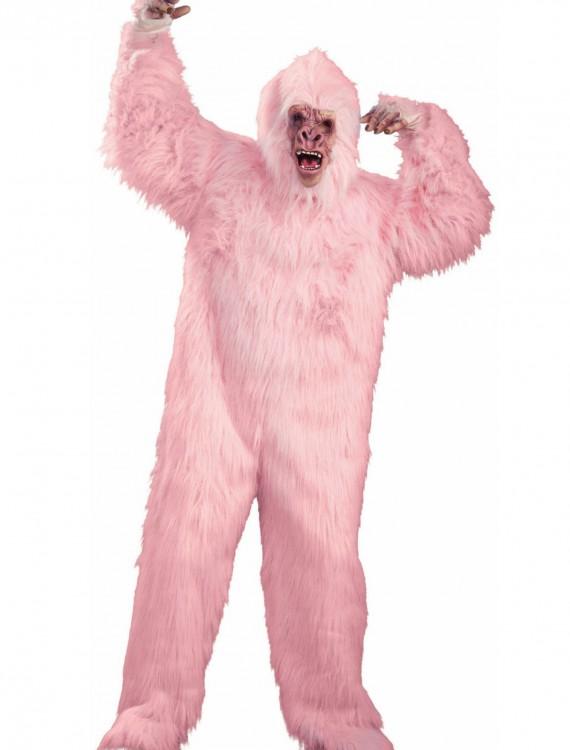 Deluxe Pink Gorilla Costume, halloween costume (Deluxe Pink Gorilla Costume)