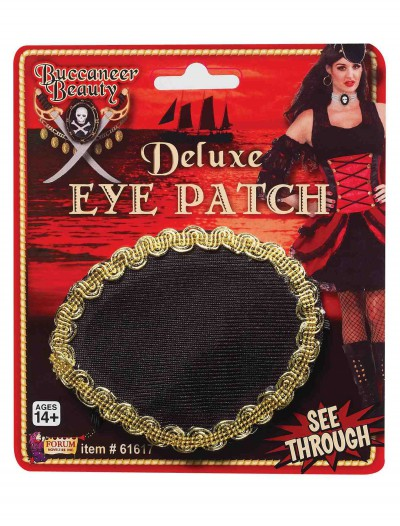 Deluxe Pirate Eye Patch, halloween costume (Deluxe Pirate Eye Patch)