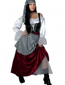Deluxe Pirate Wench Costume, halloween costume (Deluxe Pirate Wench Costume)