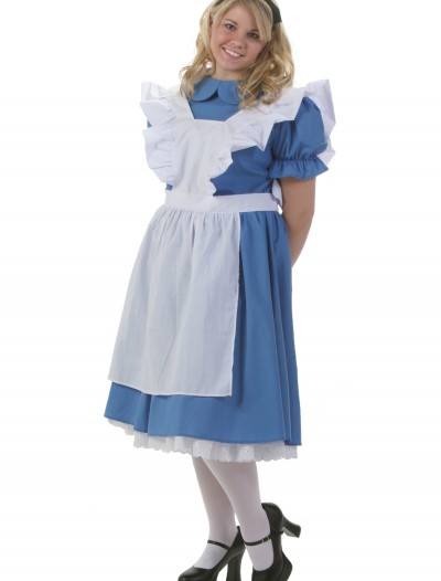 Deluxe Plus Size Alice Costume, halloween costume (Deluxe Plus Size Alice Costume)
