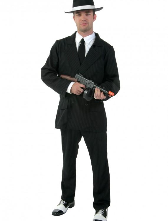 Deluxe Plus Size Gangster Costume, halloween costume (Deluxe Plus Size Gangster Costume)