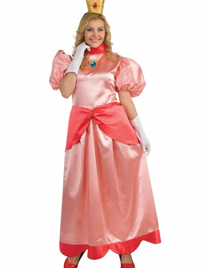 Deluxe Princess Peach Plus Size Costume, halloween costume (Deluxe Princess Peach Plus Size Costume)