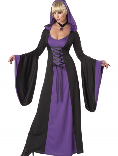 Deluxe Purple Hooded Robe, halloween costume (Deluxe Purple Hooded Robe)