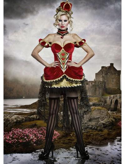 Deluxe Queen of Hearts Costume, halloween costume (Deluxe Queen of Hearts Costume)
