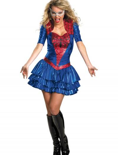 Deluxe Sassy Spidergirl Costume, halloween costume (Deluxe Sassy Spidergirl Costume)