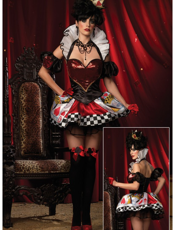 Deluxe Sexy Card Queen, halloween costume (Deluxe Sexy Card Queen)