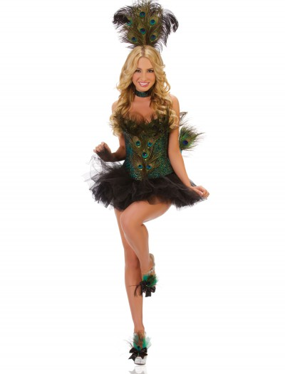 Deluxe Sexy Peacock Costume, halloween costume (Deluxe Sexy Peacock Costume)