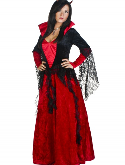 Deluxe She Devil Costume, halloween costume (Deluxe She Devil Costume)