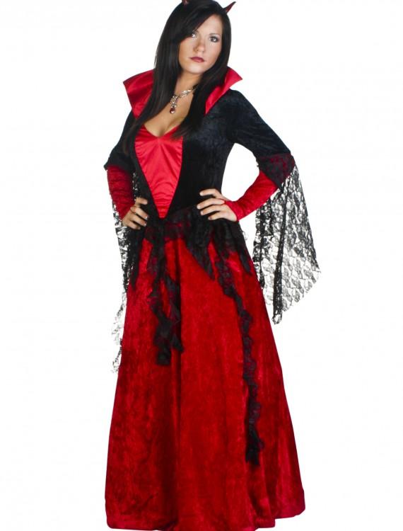 Deluxe She Devil Costume, halloween costume (Deluxe She Devil Costume)