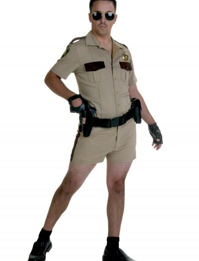 Deluxe Short Short Sheriff Costume, halloween costume (Deluxe Short Short Sheriff Costume)