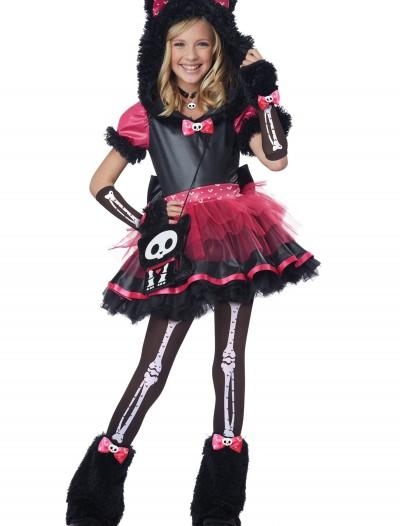 Deluxe Skelanimals Kit the Cat Costume, halloween costume (Deluxe Skelanimals Kit the Cat Costume)