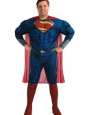 Deluxe Superman Plus Size Costume, halloween costume (Deluxe Superman Plus Size Costume)