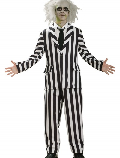 Deluxe Teen Beetlejuice Costume, halloween costume (Deluxe Teen Beetlejuice Costume)
