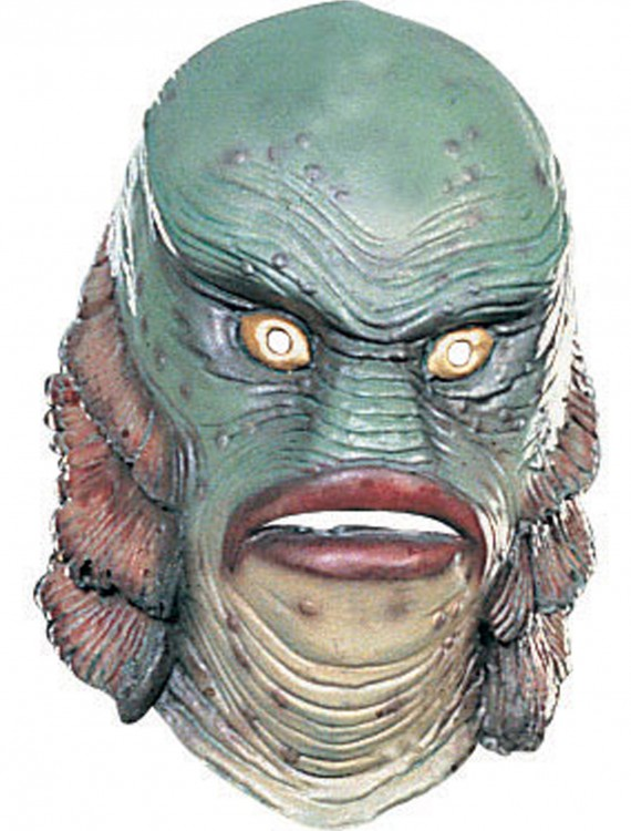 Deluxe The Creature from the Black Lagoon Mask, halloween costume (Deluxe The Creature from the Black Lagoon Mask)