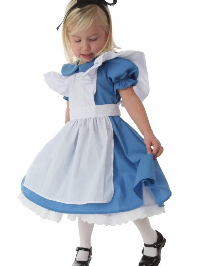 Deluxe Toddler Alice Costume, halloween costume (Deluxe Toddler Alice Costume)
