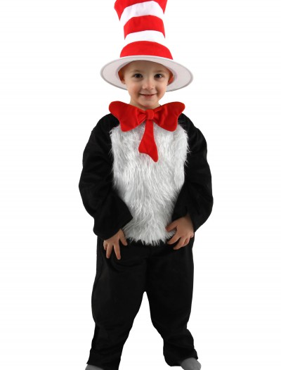 Deluxe Toddler Cat in the Hat Costume, halloween costume (Deluxe Toddler Cat in the Hat Costume)