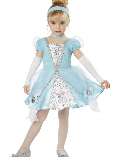 Deluxe Toddler Cinderella Costume, halloween costume (Deluxe Toddler Cinderella Costume)
