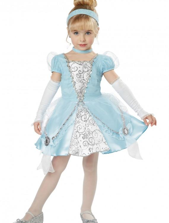Deluxe Toddler Cinderella Costume, halloween costume (Deluxe Toddler Cinderella Costume)