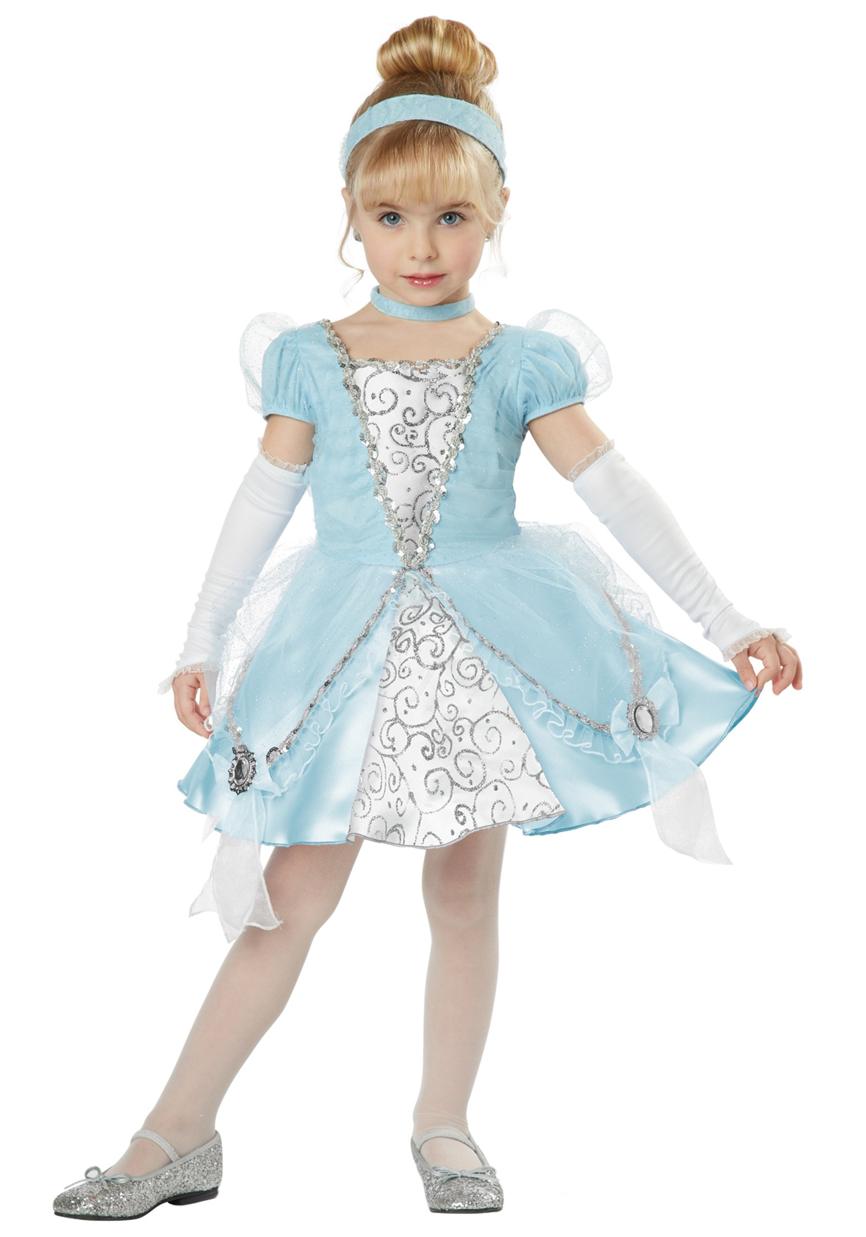Deluxe Toddler Cinderella Costume  sc 1 st  Halloween Costumes & Deluxe Toddler Cinderella Costume - Halloween Costumes
