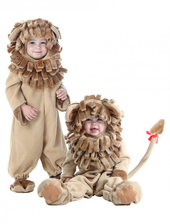 Deluxe Toddler Lion Costume, halloween costume (Deluxe Toddler Lion Costume)