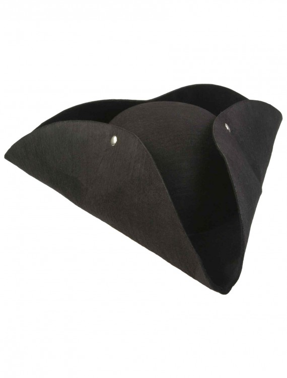 Deluxe Tricorn Pirate Hat, halloween costume (Deluxe Tricorn Pirate Hat)