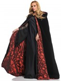 Deluxe Velvet Cape w/ Quilted Red Lining, halloween costume (Deluxe Velvet Cape w/ Quilted Red Lining)