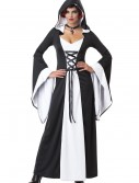 Deluxe White Hooded Robe, halloween costume (Deluxe White Hooded Robe)
