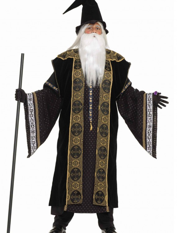 Deluxe Wizard Adult Costume, halloween costume (Deluxe Wizard Adult Costume)