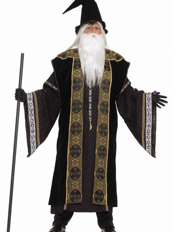 Deluxe Wizard Adult Costume, halloween costume (Deluxe Wizard Adult Costume)
