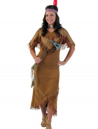 Deluxe Women's Indian Costume, halloween costume (Deluxe Women's Indian Costume)