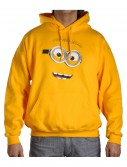Despicable Me Minion Fleece Hoodie, halloween costume (Despicable Me Minion Fleece Hoodie)