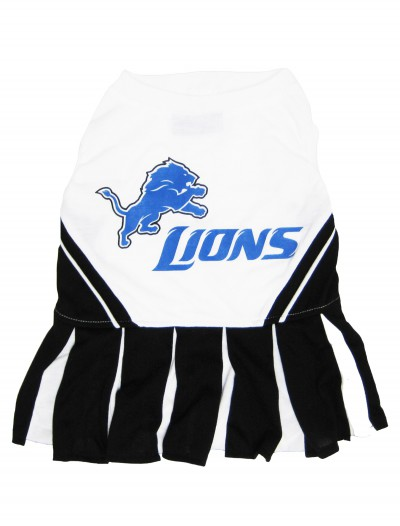 Detroit Lions Cheerleader Dog Costume, halloween costume (Detroit Lions Cheerleader Dog Costume)
