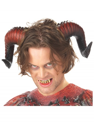 devil horns and teeth halloween costume devil horns and teeth
