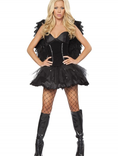 Devilish Dark Angel Costume, halloween costume (Devilish Dark Angel Costume)