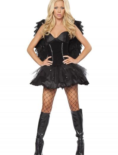 Devilish Dark Angel Costume, halloween costume (Devilish Dark Angel Costume)