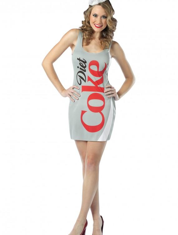 Diet Coke Tank Dress, halloween costume (Diet Coke Tank Dress)