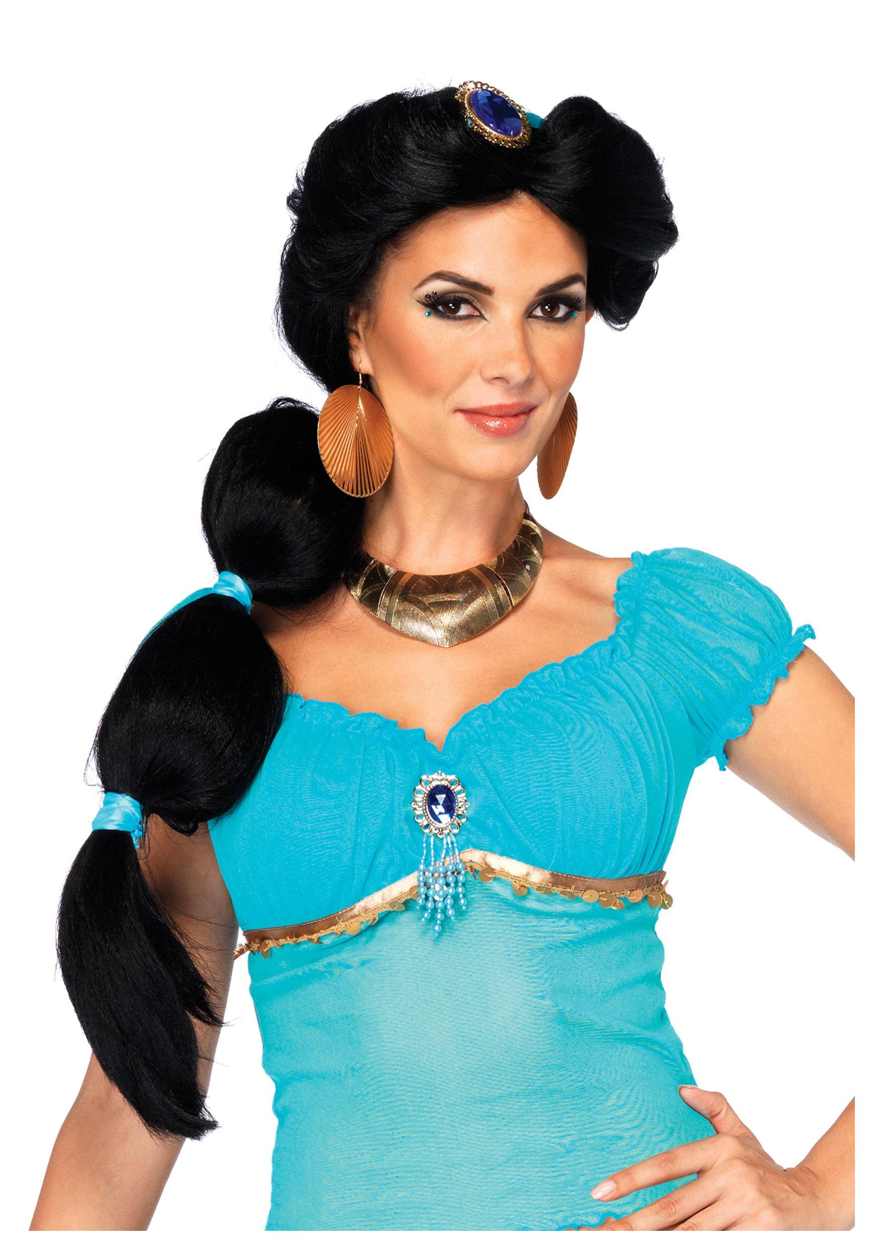 disney jasmine wig