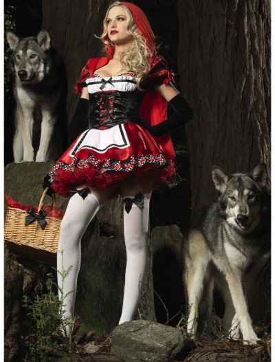 Divine Red Riding Hood Costume, halloween costume (Divine Red Riding Hood Costume)