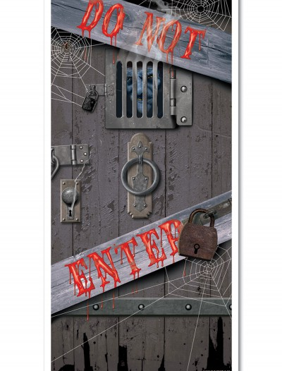 Do Not Enter Door Cover, halloween costume (Do Not Enter Door Cover)